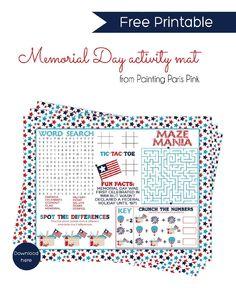 fun memorial day menu