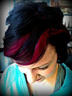Magenta and the new VioletRed on my sister