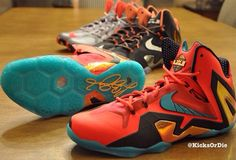 b2a754741e46 Nike LeBron XI Elite (3 Sample Colorways. Lebron 11Nike ...