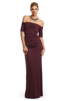 Mother of the groom dress.  Venetian Wine Gown by Badgley Mischka RTR