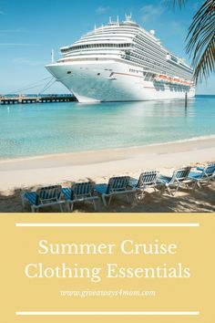 Summer Cruise Clothing Essentials via @ms_victoria_h Travelling Tips, Travel Tips, Cruise Outfits, Carry On Suitcase, What To Pack, Triangle Bikini, Dress Codes, Sailing, Essentials