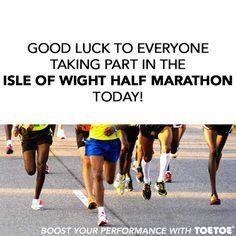 It was the Isle of Wight Half Marathon at the weekend! #TOETOESocks #TOETOE #Socks #ToeSocks #Marathon