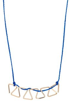 By Boe  Multi-Hex Silk Thread Necklace
