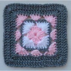 Transcendent Crochet a Solid Granny Square Ideas. Inconceivable Crochet a Solid Granny Square Ideas. Granny Square Crochet Pattern, Afghan Crochet Patterns, Crochet Motif, Easy Crochet, Crochet Stitches, Knitting Patterns, Crochet Squares Afghan, Crochet Blocks, Crochet Afghans