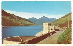 Vintage Ireland postcard/ Silent Valley Mountains by loveaboveall