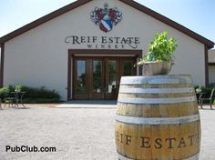 One of the stops on our self-guided Niagara-on-the-Lake wine tours!