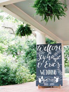 chalkboard signage... Blog — STEMS – Austin Florist | Austin Wedding Florist | Austin Event Florist
