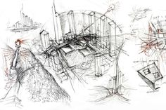 How Architecture Is Born: 7 Poetic Sketches by Daniel Libeskind and the Buildings They Helped to Shape