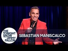 Sebastian Maniscalco Stand-Up – The Tonight Show Starring Jimmy Fallon – Full Transcript - Scraps from the loft Sebastian Maniscalco, Super Funny Videos, Tonight Show, Stand Up Comedy, Jimmy Fallon, Screwed Up, Guy Names, A Good Man, Comedians