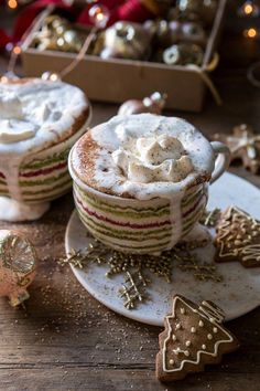 Vanilla Mocha Hot Cocoa | halfbakedharvest.com #hotchocolate #hotcocoa #chocolate #christmas #easyrecipes #BrownieCake Chocolate Syrup, Chocolate Cake, Vanilla Whipped Cream, Half Baked Harvest, Brownie Cake, Christmas Drinks, Vegetarian Chocolate, Mocha, Sweet