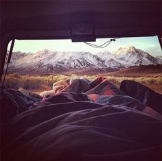 Good morning! #truck #camping  so perfect.  Wish I was there!