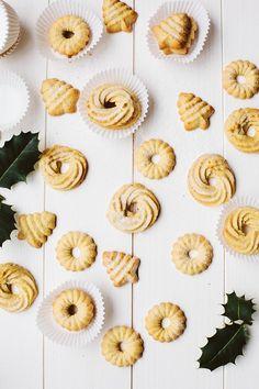 Vegan Danish Butter Cookies #veganrecipes #vegan #vegetarian #recipes #recipe #MeatlessMonday #whatveganseat #veganbooks #glutenfree #rawvegan #RAW