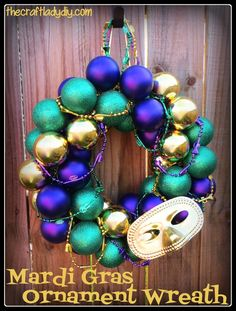 1000 images about HOLIDAYS MARDI GRAS TREE & WREATHS on #0: 8d d6ba edb5d9679