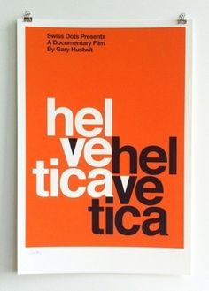 Limited Edition Helvetica Poster | AisleOne