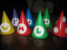 Mario Party  Party Hats