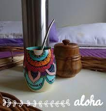 Resultado de imagen para mates pintados Decoupage, Terracotta Pots, Porcelain, Pottery, Diy, Vases, Molde, Painted Boxes, Painted Flower Pots