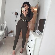 Out of control hotness 😍🙌🏻🔥Looking luxe AF in the Beni Jumpsuit via ✔️ Runaway The Label, Playsuits, Jumpsuits, Charlotte, Girl With Curves, Online Boutiques, Dress Up, Cute Outfits, Bodysuit