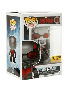 Funko Marvel Ant-Man Pop! Ant-Man Vinyl Bobble-Head Hot Topic Exclusive