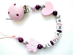 Clip, Bb, Creations, Couture, Bracelets, Jewelry, Pacifiers, Amigurumi, Pacifier Holder
