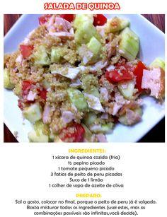 Receitas com quinoa: salada e pão de micro-ondas | Salada de quinoa | Pão de quinoa
