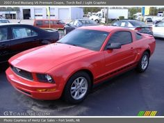 Have my mid life crisis sports car different color though but you 2007 mustang ford coupe red 2007 ford mustang v6 premium coupe in torch red publicscrutiny Image collections