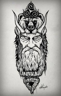 Odin/'s Raven Crow Antigua Huginn y Muninn Norse Pagano-Tallado /& woodburned.