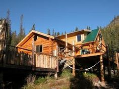 Yukon Wilderness Lodge escape Yukon River, Yukon Territory, Call Of The Wild, Wilderness, Coast, Canada, Cabin, House Styles, Pictures