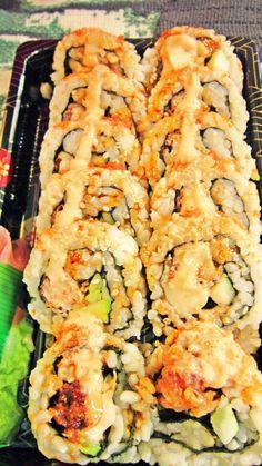 Shrimp Sushi.