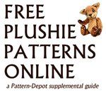 Free Plushie Patterns Online by viergacht on deviantART Lots and lots of links!!! :-)