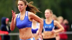Track And Field, Bra, Sports, Fashion, Hs Sports, Moda, Fashion Styles, Track Field, Bra Tops