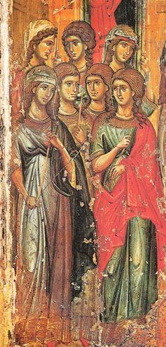 Τα Εισόδια της Θεοτόκου, εικόνα του 14ου αιώνα