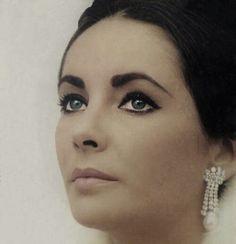 Elizabeth Taylor #earrings