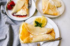 Baked Caprese Chicken – Modern Honey Homemade Garlic Butter, Homemade Crepes, Best Crepe Recipe, Crepe Recipes, Chocolate Desserts, Chocolate Chip Cookies, Raspberry Whipped Cream, Raspberry Cake, Blackberry