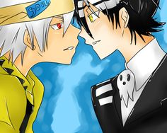 Soul & Death the Kid from Soul Eater