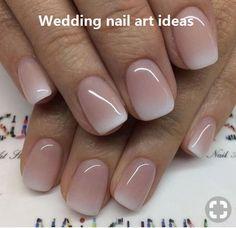 Nageldesign - Nail Art - Nagellack - Nail Polish - Nailart - Nails Nagelkunst Nageldesign How To Sav Cute Nails, Pretty Nails, Pretty Toes, Bridal Nails, Wedding Manicure, Wedding Nails Design, Trendy Wedding, Bridal Pedicure, Wedding Nail Colors