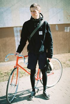the cold is here Fixed Gear, Urban Bike, Bike Rider, Cycling, Windbreaker, Bomber Jacket, Transportation, Track, Colours