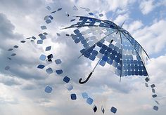 Fact of The Day! - New Solar Panels Are Able To Generate Energy From Rain Drops. Click visit to read the full story.