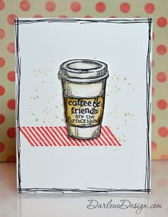 Watercolor with distress markers - with video tutorial- Perfect Blend from Stampin' Up!