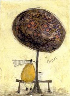 Pura Kastigá: SAM TOFT: LAS MAS DELICIOSAS ILUSTRACIONES. Love Sam, Children's Book Illustration, Illustration Children, English Artists, Bird Tree, Naive Art, Whimsical Art, Dog Art, Artist Art