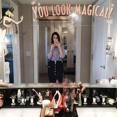 Look do dia nesse espelho maravilhoso! Vegas! Vic Ceridono   Dia de Beauté