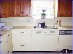 Panda Kitchen Cabinets See More Decoration Vintage Metal Kitchen