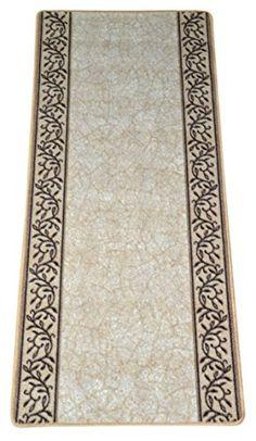 Dean Washable Carpet Rug Runner - Garden Path Beige - 26 ... https://www.amazon.com/dp/B01AYGDFBK/ref=cm_sw_r_pi_dp_x_F49EybYB05TD0