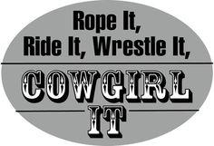 Cowgirl way