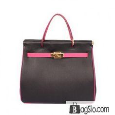 8e562117305 Hermes Spring Summer 2013 Shopping Bag H1327 Black - HERMES