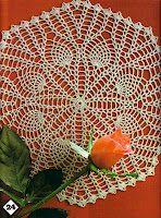 Album Archive - Magic Crochet nº 27 Crochet Dollies, Crochet Buttons, Crochet Motif, Free Crochet, Crochet Diagram, Pineapple Crochet, Pineapple Pattern, Doily Patterns, Crochet Patterns