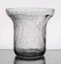 Hanging Wall Vase Glass Cone Torpedo Flared 9 75 X 5 5 Oos