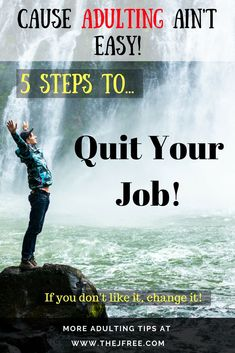 Are you thinking about getting out of a job you hate or just making a change? Hopefully this article can make that shift a little easier! Let me know that you think down in the comments! Life Advice, Career Advice, After College, Career Inspiration, Career Quotes, Good Essay, Quitting Your Job, Future Career, College Hacks