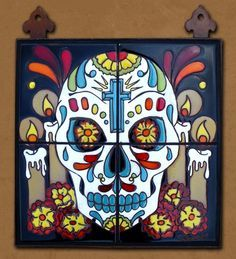 day of the dead murals - Google Search