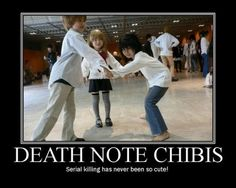 Death Note chibis. These kids are awesome.