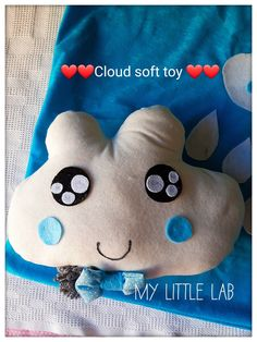 Pillow, cloud soft toy Softies, Sewing Projects, Coin Purse, Clouds, Purses, Pillows, Toys, Handbags, Activity Toys